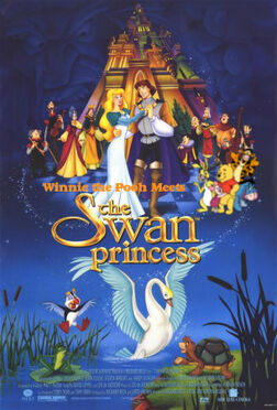 Winnie the Pooh Meets The Swan Princess Poster