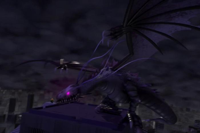 Tumblr static big dragon go rawr