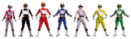 Seven Blitzkrieg Rangers