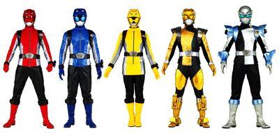 Energy Chaser Rangers