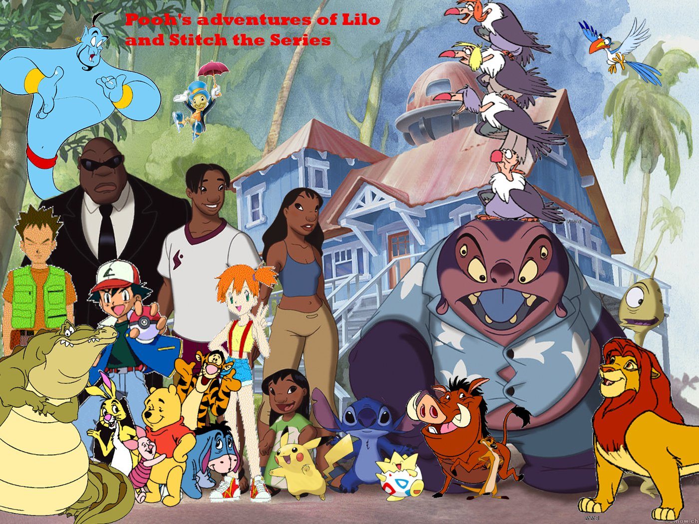 poohs adventures of lilo amp stitch the series poohs