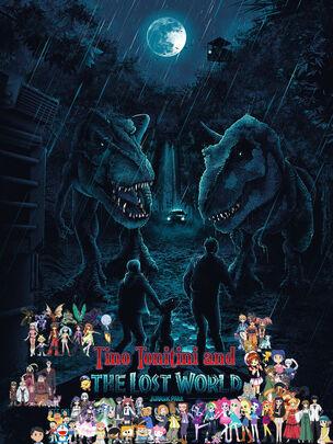 Tino Tonitini & The Lost World Jurassic Park Poster