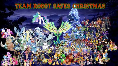 Team Robot Christmas
