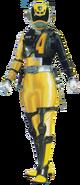 S.P.D. Yellow Ranger S.W.A.T. mode