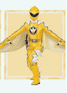 Yellow Dino Ranger Super Dino Mode