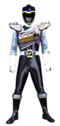 Dino Charge Black Ranger in Dino Drive