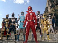 Millennium ranger and the 7th team
