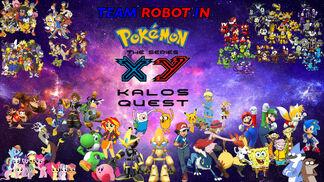 Team Robot in Pokemon X&Y Kalos Quest Remake