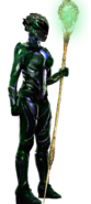 Rita Repulsa as the Green Ranger