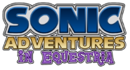 Sonic Adventures in Equestria Alternate Logo