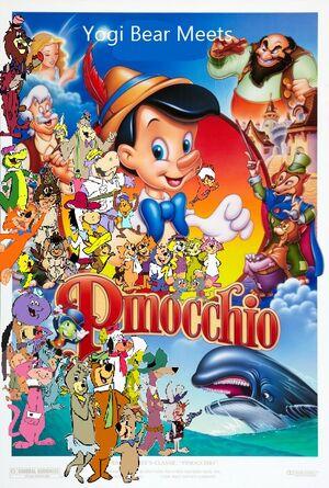 Yogi Bear Meets Pinocchio poster
