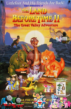 Tino's Adventures of The Land Before Time II Poster