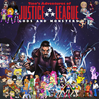 Tino's Adventures of Justice League- Gods and Monsters