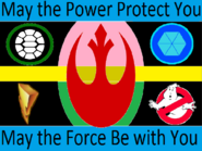 100 Acre Wood Rebel Alliance flag