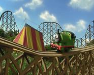 Percy roller coaster