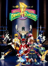 Sora's Adventures of Mighty Morphin Power Rangers Season 2 poster