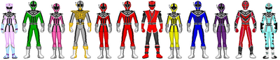Data Squad Rangers (with Tyler)