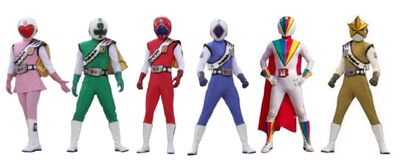 Six jacker rangers