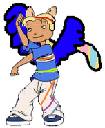 Tino Tonitini (half-pony form) (rainbow power)