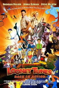 Pooh's Adventures of Looney Tunes Back in Action poster