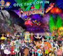 Otis the Cow in Fantasmic!