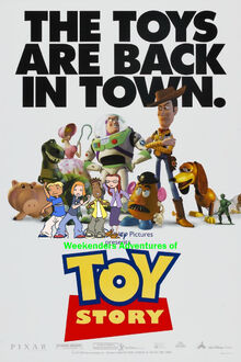 Weekenders Adventures of Toy Story