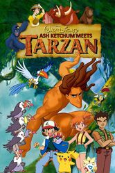 Ash Ketchum meets Tarzan Poster