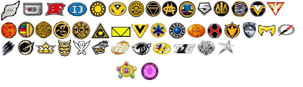 Image All Power Rangers Symbols Updatedg Poohs Adventures