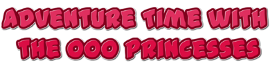 Adventure Time with the Ooo Princesses Logo