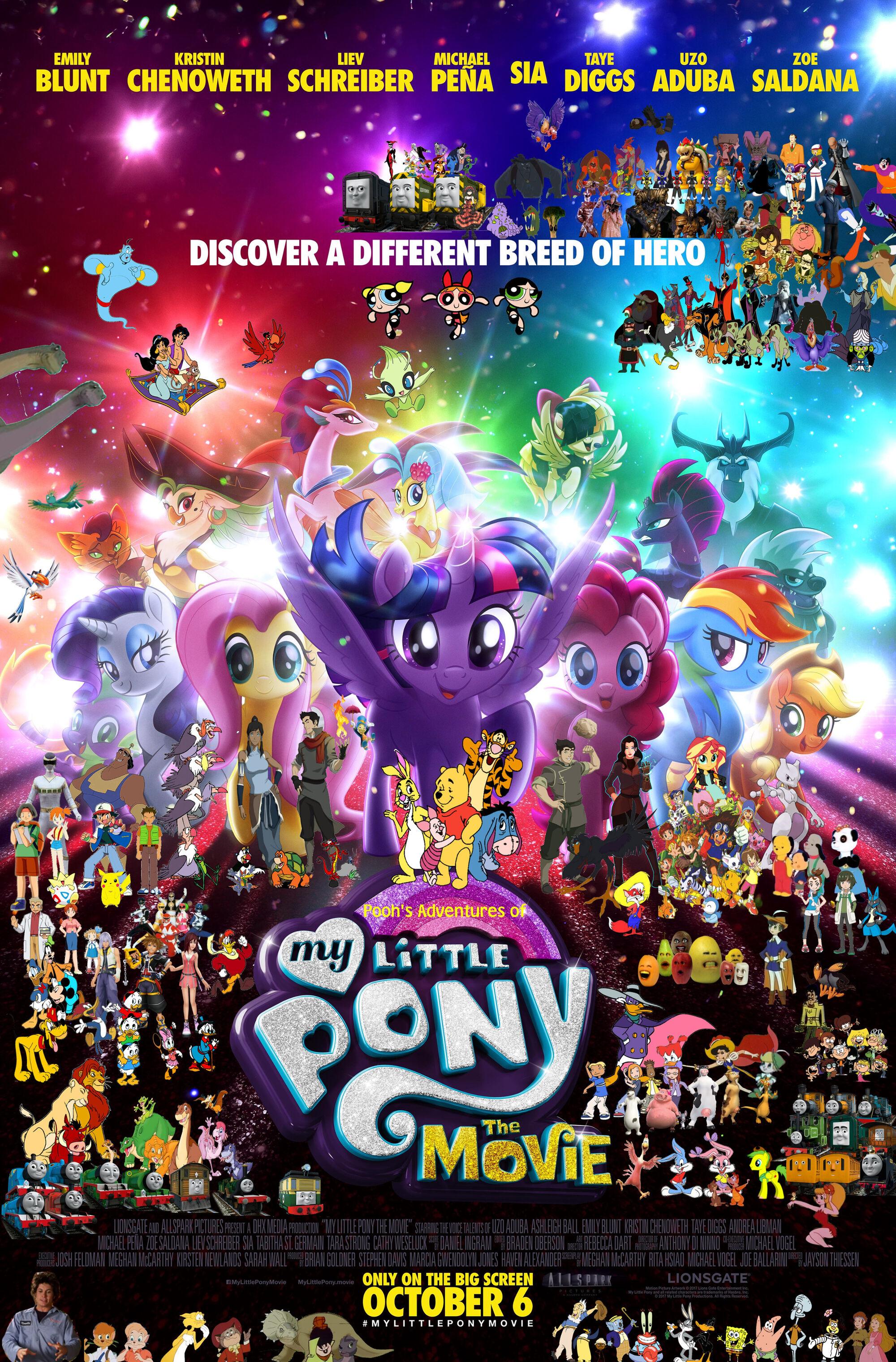 pooh s adventures of my little pony the movie 2017 pooh s