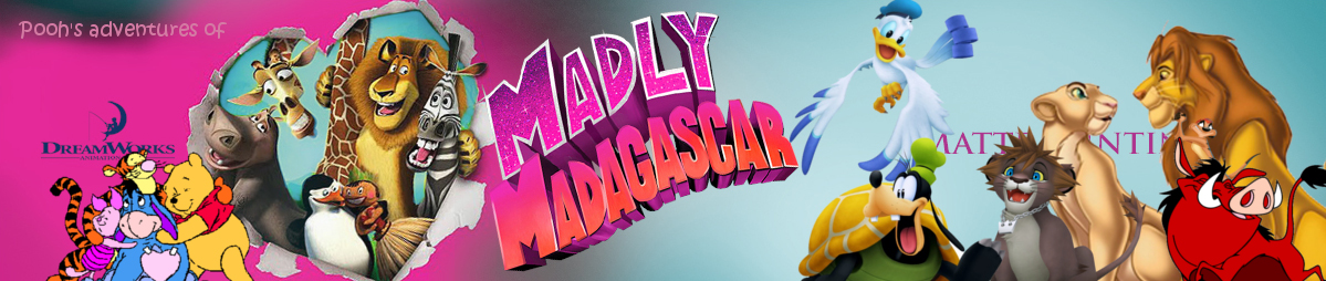 Pooh's adventures of Madly Madagascar Poster