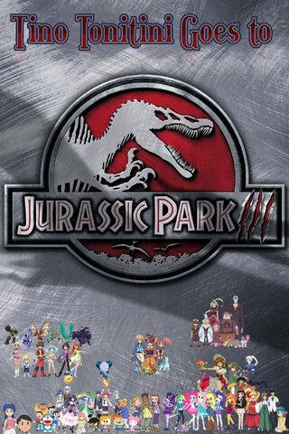 Tino Tonitini Goes to Jurassic Park III Poster