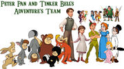 Peter Pan and Tinker Bell's Adventures team
