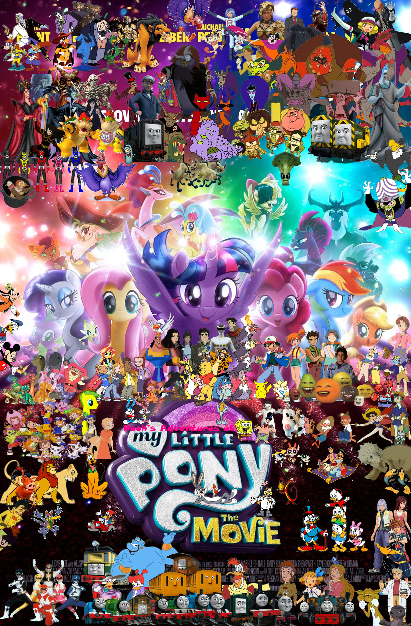 Image Pooh S Adventures Of My Little Pony The Movie