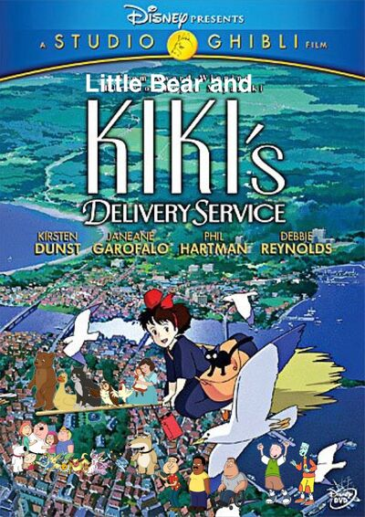 Little Bear and Kiki's Delivery Service