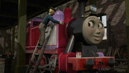 Season 21 rosie being painted red by the arc minister-daxhcfr