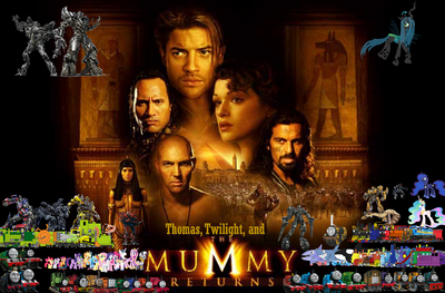 Thomas, Twilight, & The Mummy Returns