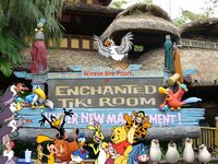 Winnie the Pooh in The Enchanted Tiki Room poster