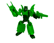 Green Bat Megazord