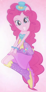 Pinkie Pie's half-pony form