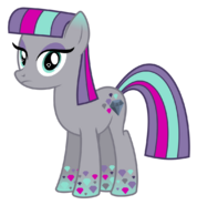 Maud Pie Rainbowfied