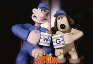 Wallace and Gromit in Anti Pesto Uniform