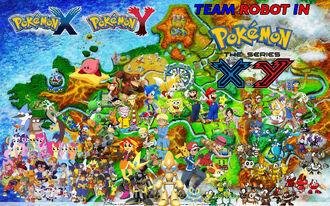 Team Robot in Pokemon XY Remake