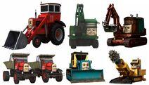 The Sodor Construction Company CGI vectors