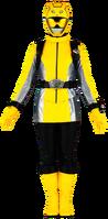 Yellow Energy Chaser Ranger
