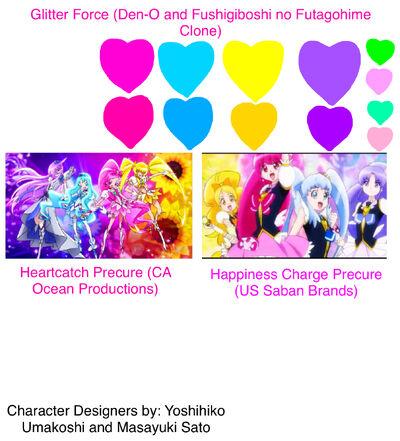Glitter Force Fushigiboshi no Futagohime Clone