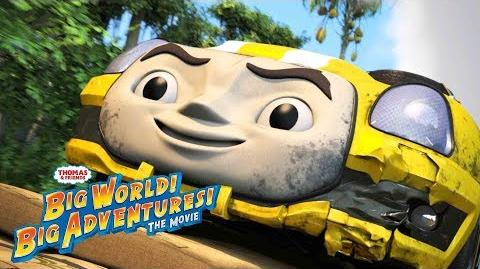 Free & Easy – Peter Andre Music Video Big World! Big Adventures! The Movie Thomas & Friends UK-0