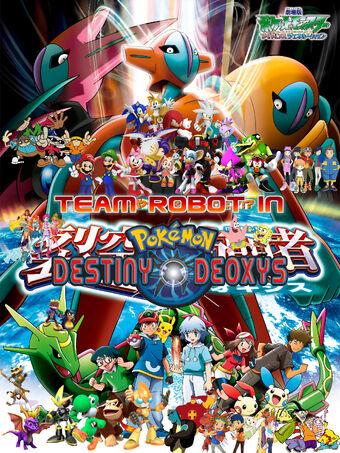 Team Robot In Pokemon Destiny Deoxys Pooh S Adventures Wiki