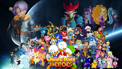 Quack Pack Heroes Poster Remake
