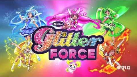 Glitter Force - English Opening HD 1 30 Min Version Stereo